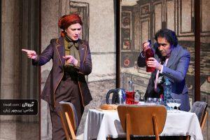 نمایش دروغ ، کارگردان: آریان رضایی