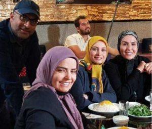 دفتر سینمایی- سریال بوی باران-فریبا کوثری،مریم کاویانی،سپیده خداوردی