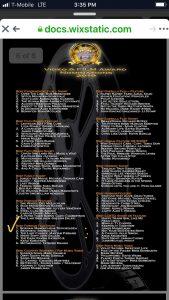 بانک انتخاب بازیگر دفترسینمایی - لیست01