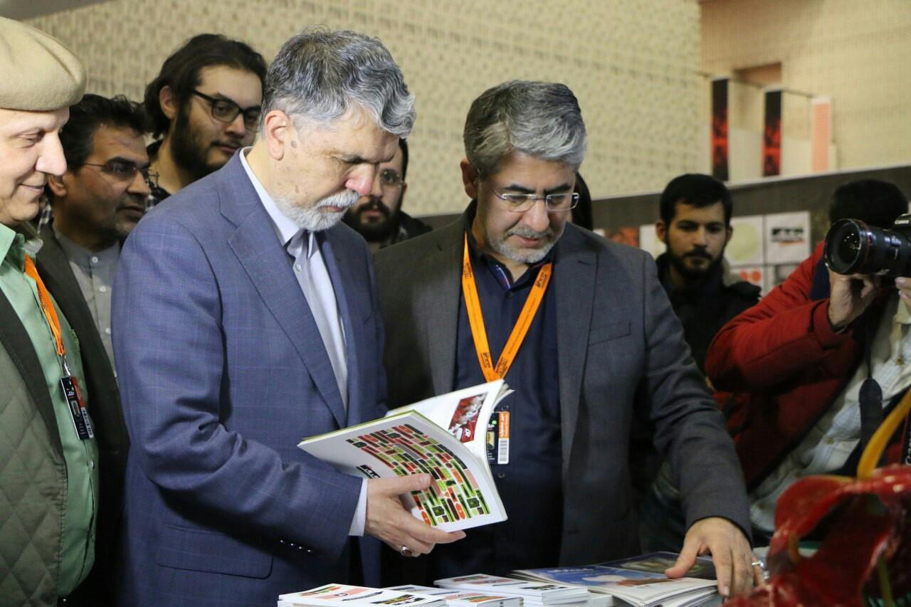 بازدید وزیر فرهنگ و ارشاد اسلامی از سینماحقیقت