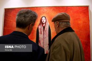 گالریگردی در تهرانِ قرمز